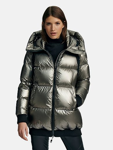 Heyer - Down quilted jacket with integrated hood