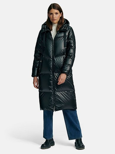 Heyer - Down quilted coat with integrated hood