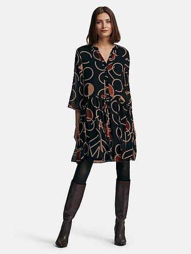 comma, - La robe à manches 3/4 avec patte de boutonnage