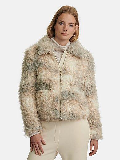 Marc Cain - Jacket made of teddy fleece