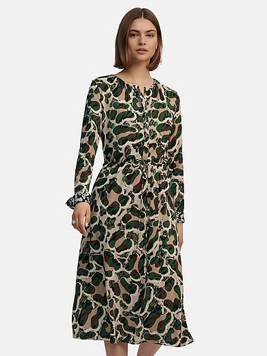 Marc Cain - Jersey dress with long sleeves