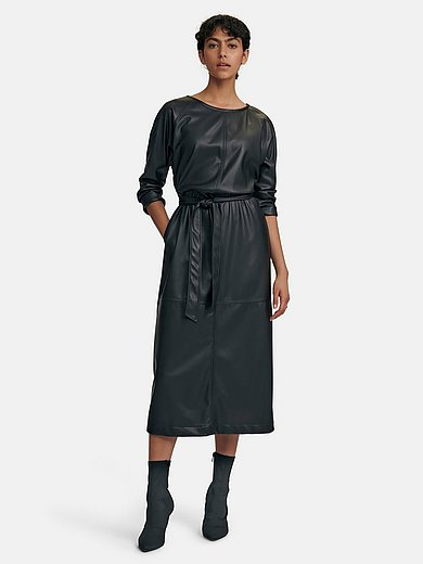 Louis and Mia - Faux leather dress