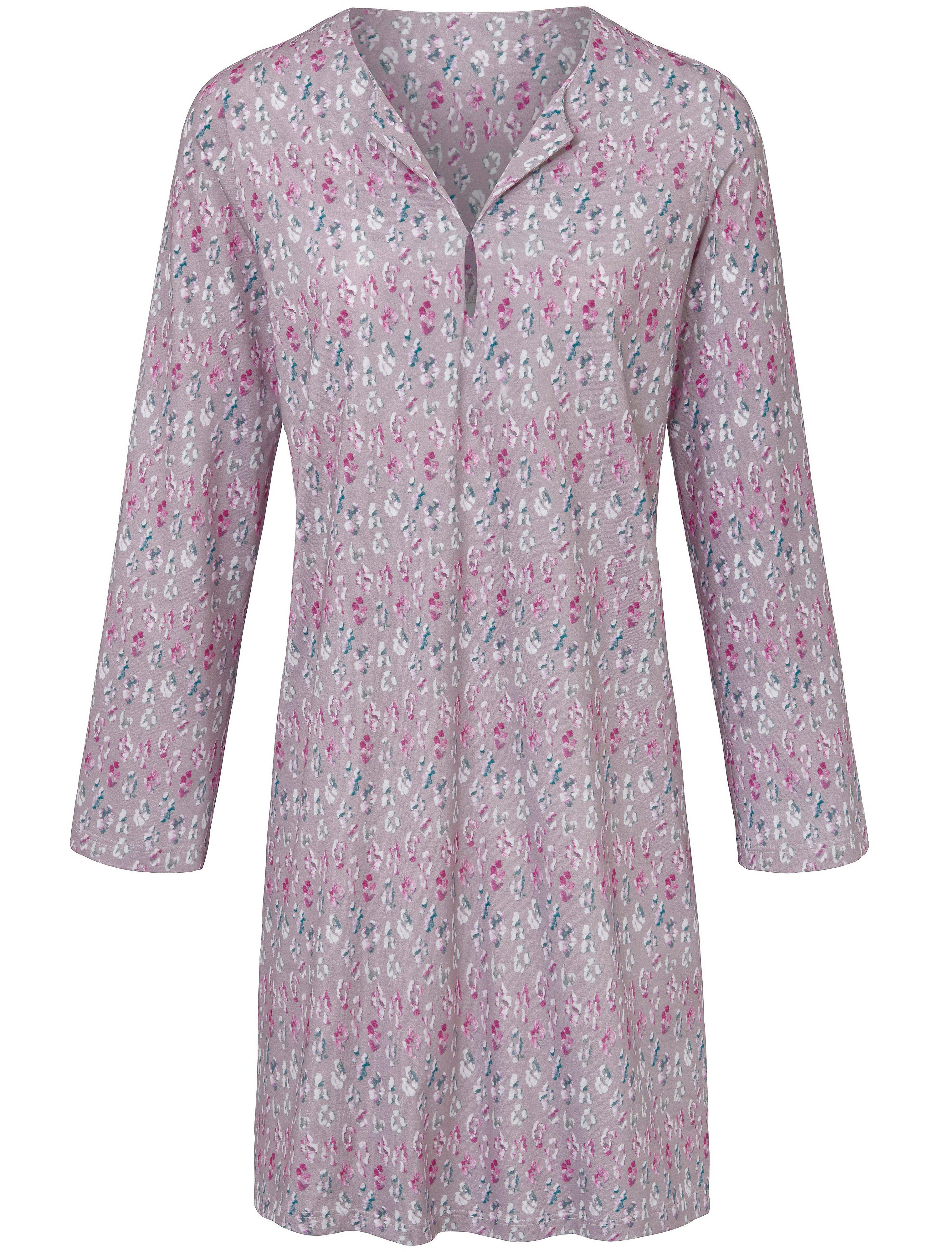 La chemise nuit 100% coton  Hautnah multicolore taille 38