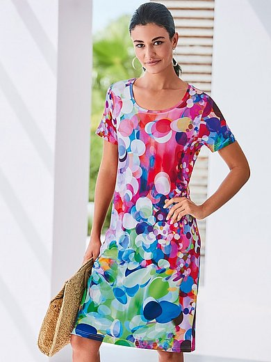 Peter Hahn - Dress with short sleeves