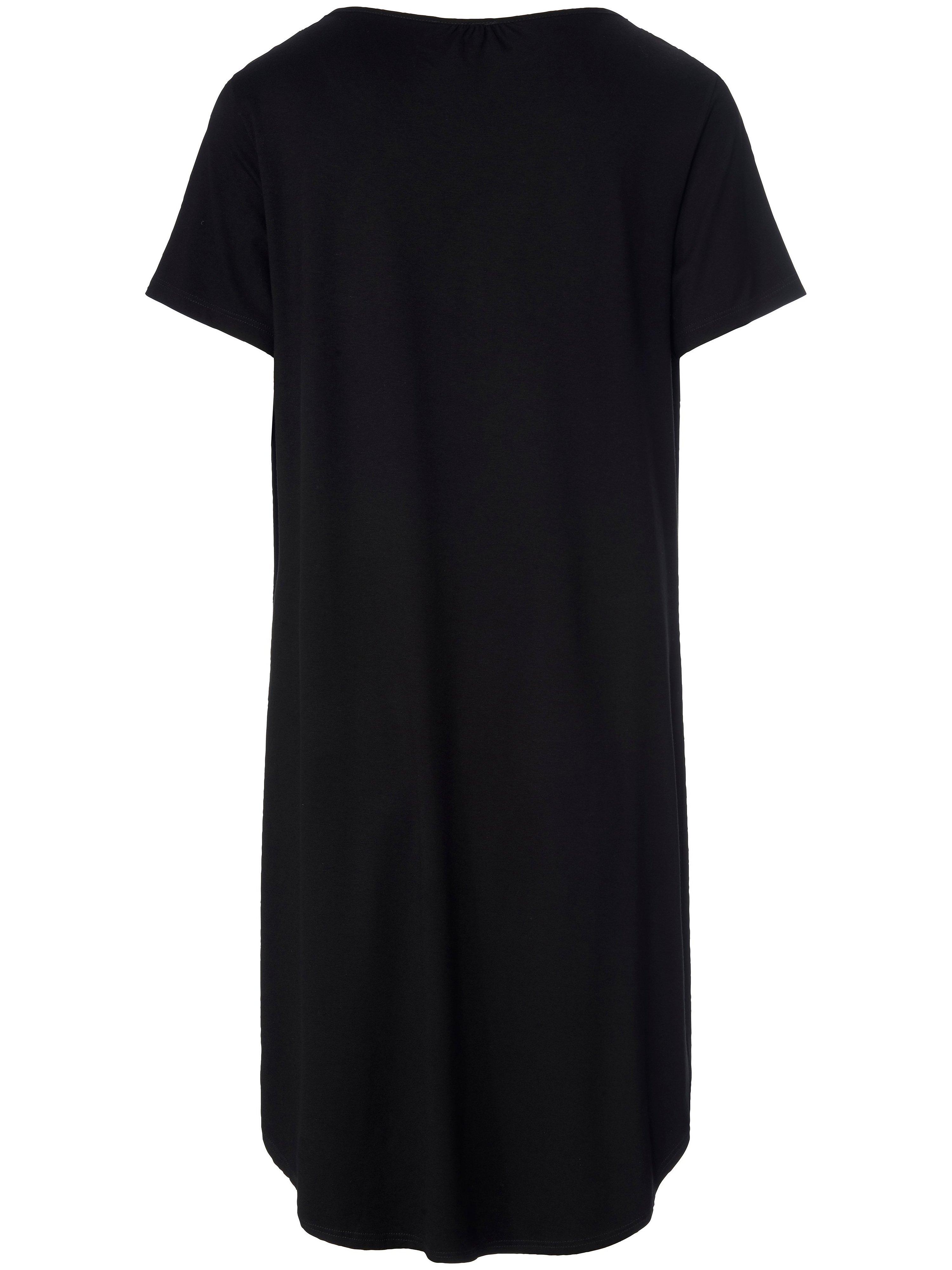 Kortærmet kjole Fra Peter Hahn sort