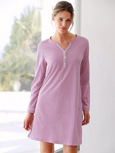 Hautnah - Nachthemd van 100% katoen met lange mouwen