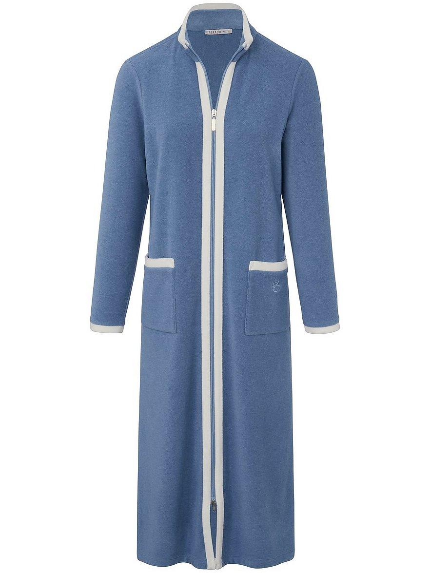 Fleece-Mantel Féraud blau Größe: 46 | Sportbekleidung > Sportmäntel > Fleecemäntel | Féraud