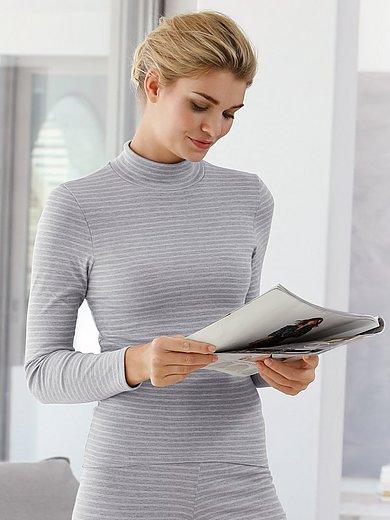 Conta - Shirt met lange mouwen en staande kraag