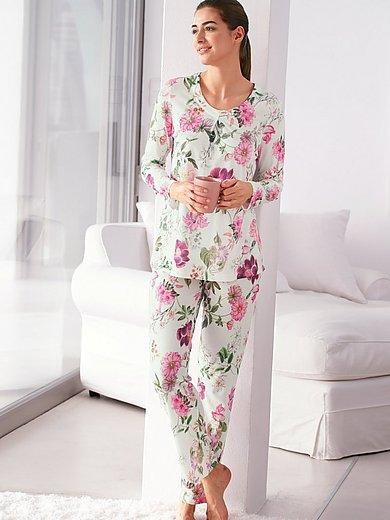 Fürstenberg - Pyjama met lange mouwen en dessin van bloemen