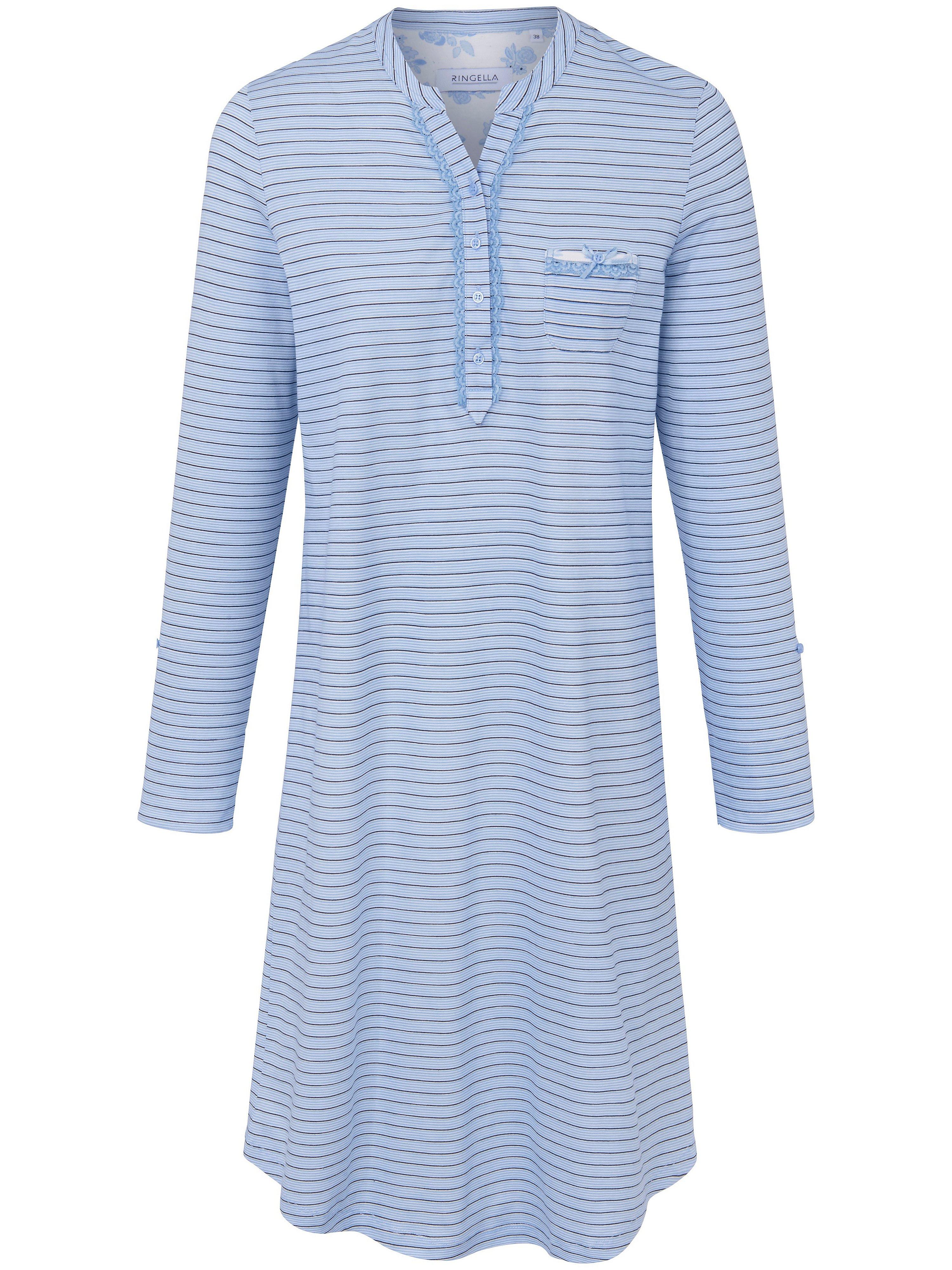 La chemise nuit 100% coton  Ringella multicolore taille 48