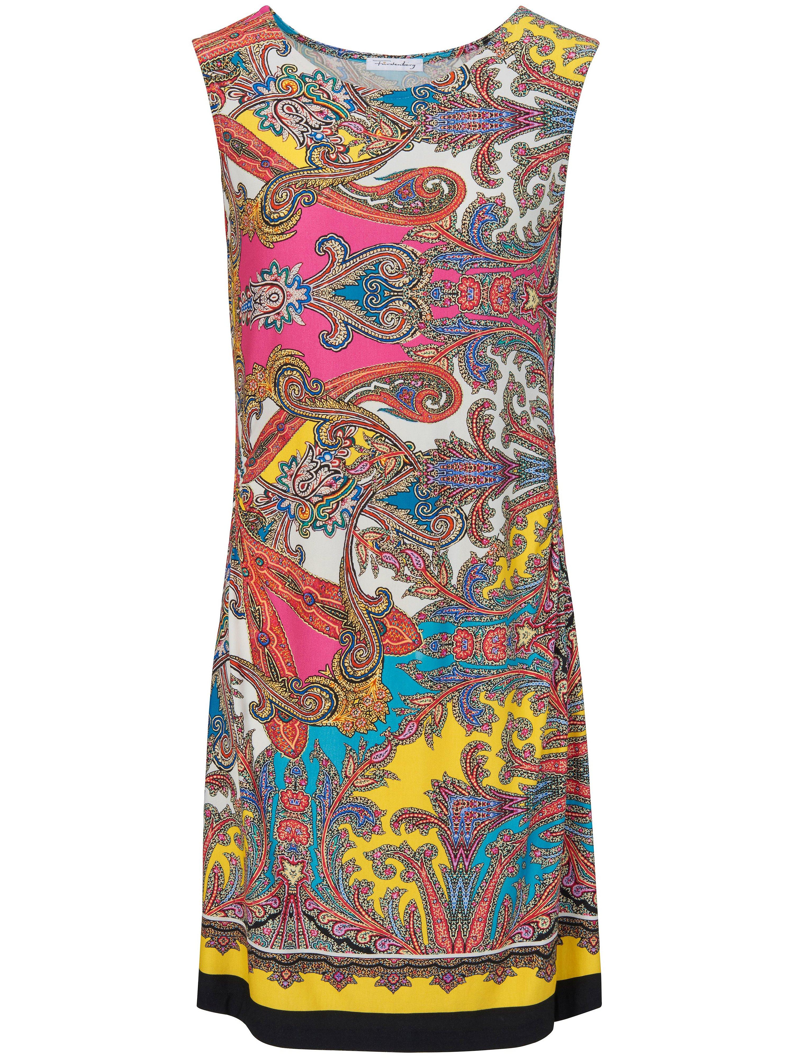 Mouwloze jurk met ornamentprint Van Furstenberg multicolour