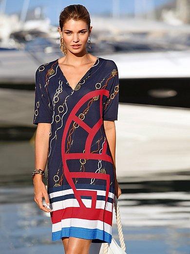 Féraud - Kleid mit 1/2-Arm und V-Ausschnitt
