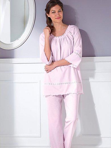 Peter Hahn - Pyjama met 3/4-raglanmouwen