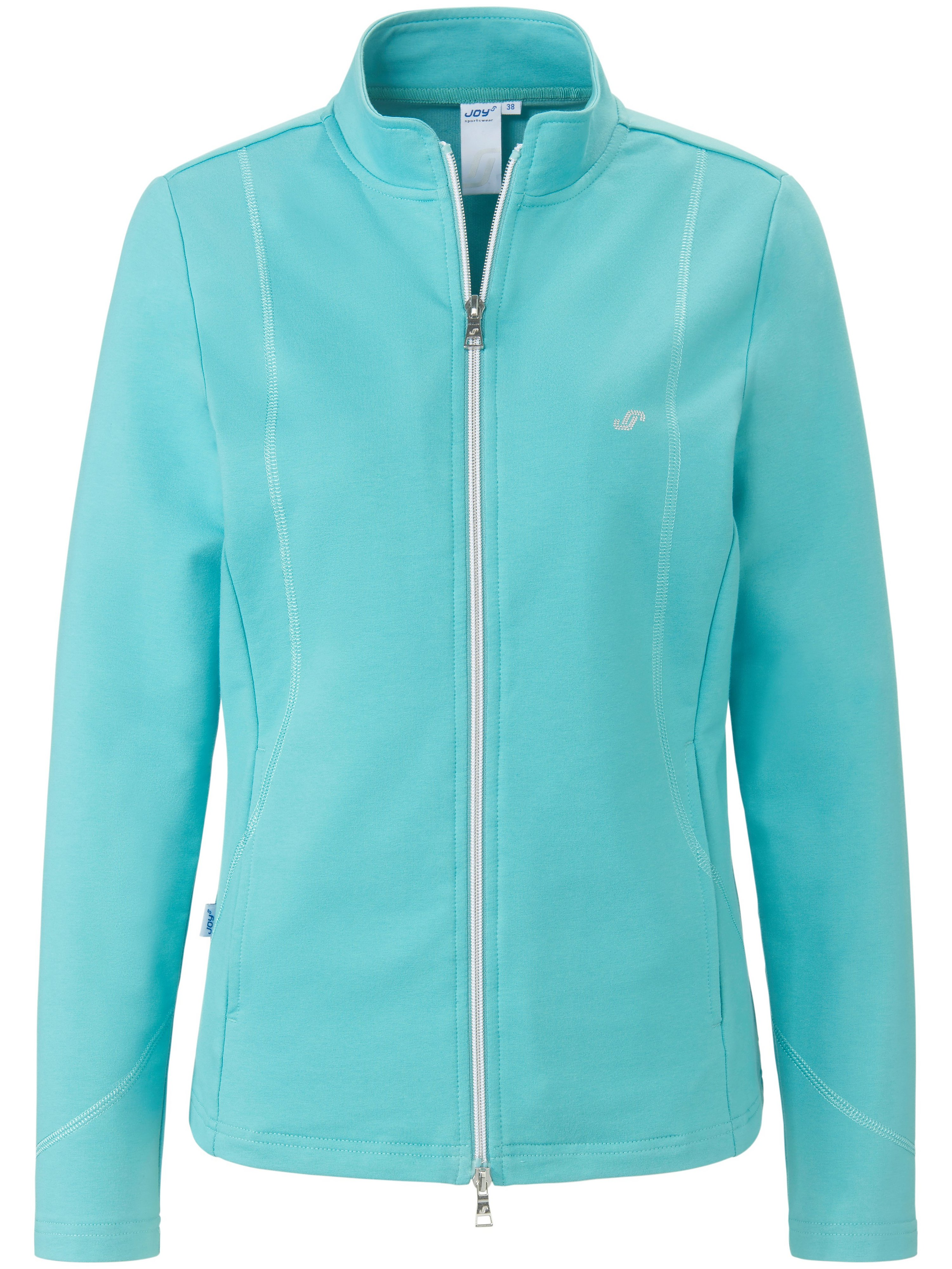 La veste en molleton manches longues  JOY Sportswear turquoise