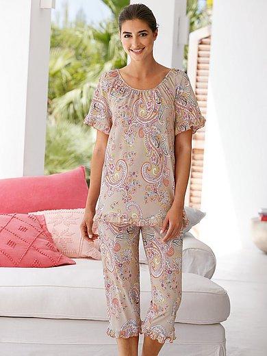 Hautnah - Pyjama met ornamentimpressies
