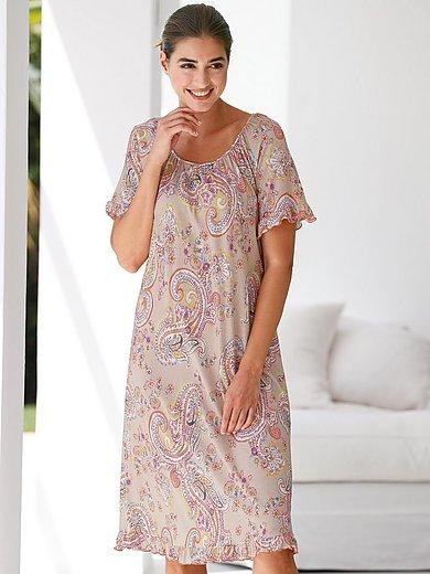 Hautnah - Nachthemd mit Raglan-Halbarm