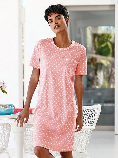 Rösch - Nachthemd van 100% katoen met strepen en stippen