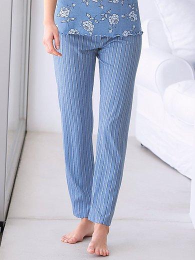 Hautnah - Lange broek van 100% katoen met elastische band