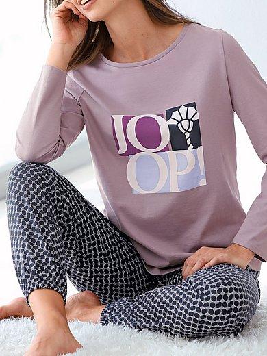 Joop! - Lange broek van 100% katoen met minimal-dessin