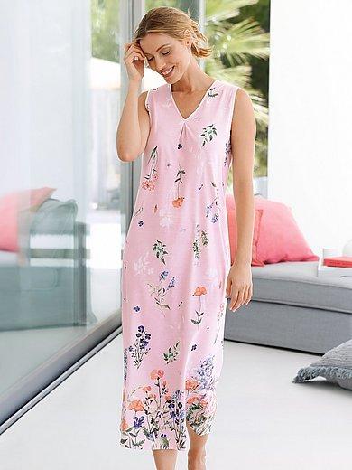Rösch - Mouwloos nachthemd van 100% katoen met print