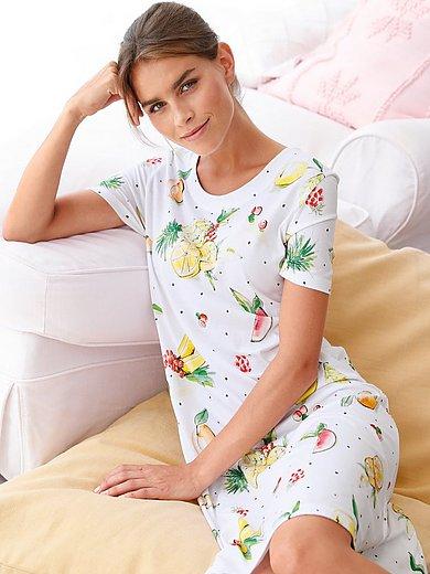 Eva B. Bitzer - Nachthemd met korte mouwen en print
