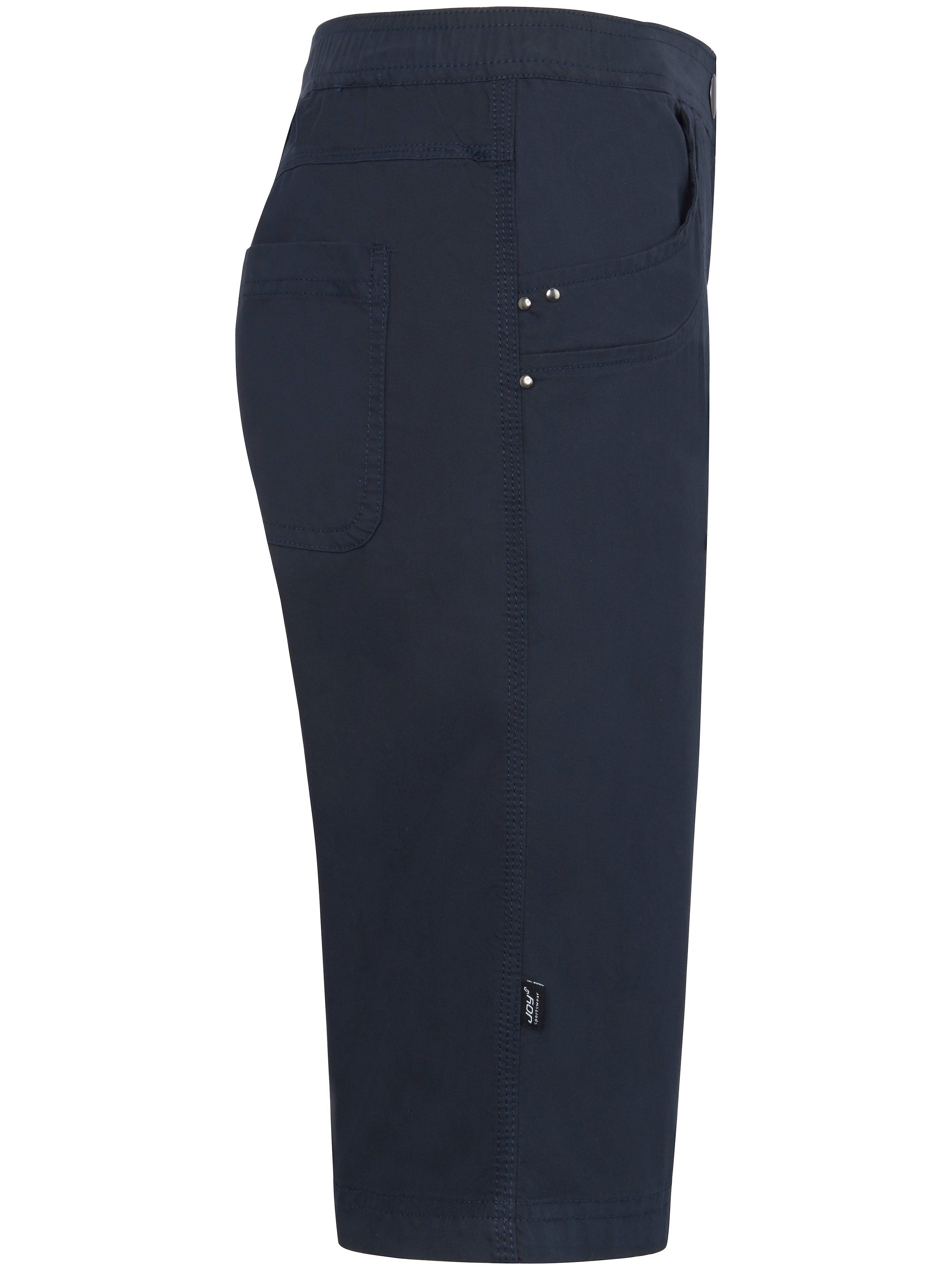 Bermudashorts elastik i taljen Fra JOY Sportswear blå