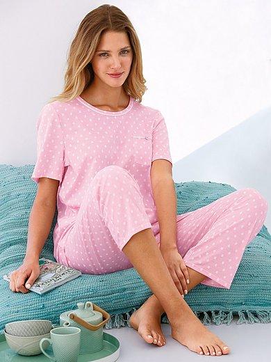 Rösch - Pyjama van 100% katoen met strepen en stippen