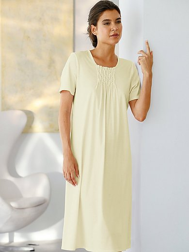 Féraud - Nachthemd van 100% katoen met korte mouwen