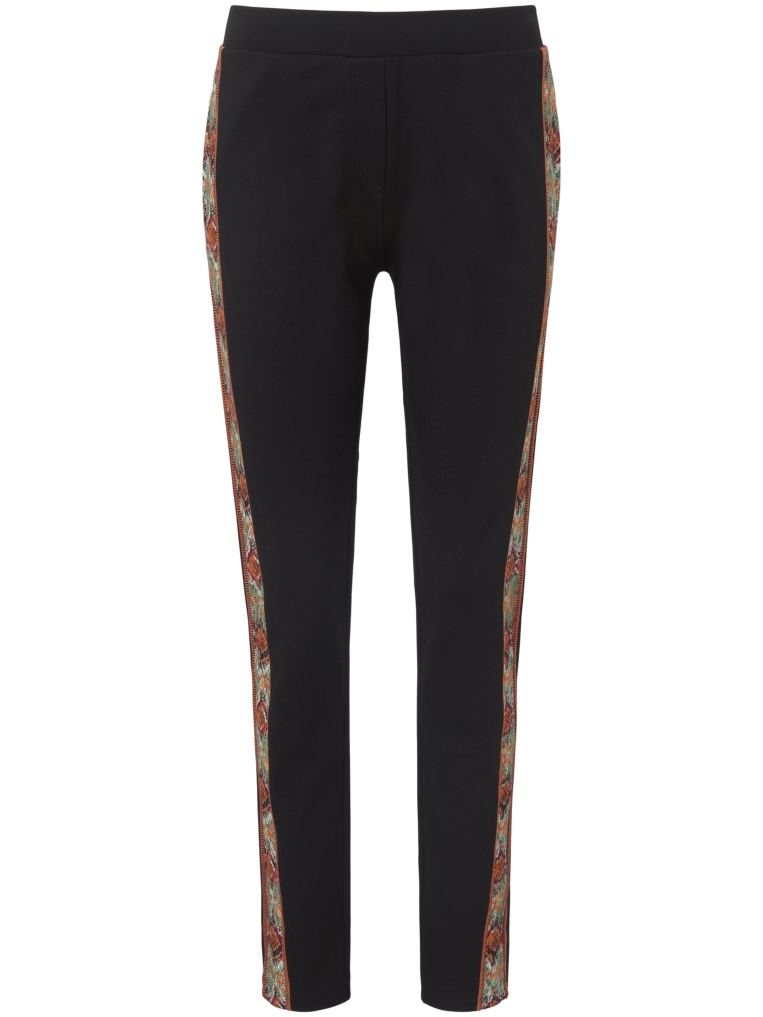 Le pantalon en jersey interlock noir - MYBC - Modalova