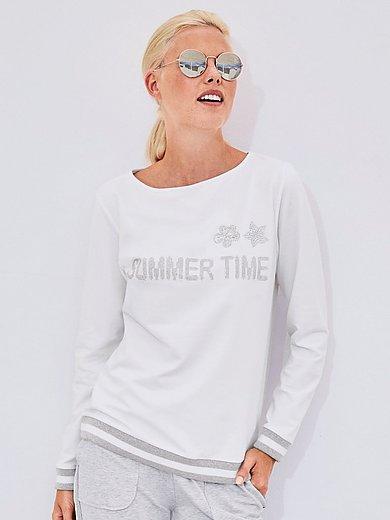 MYBC - Sweatshirt mit Rundhals-Ausschnitt