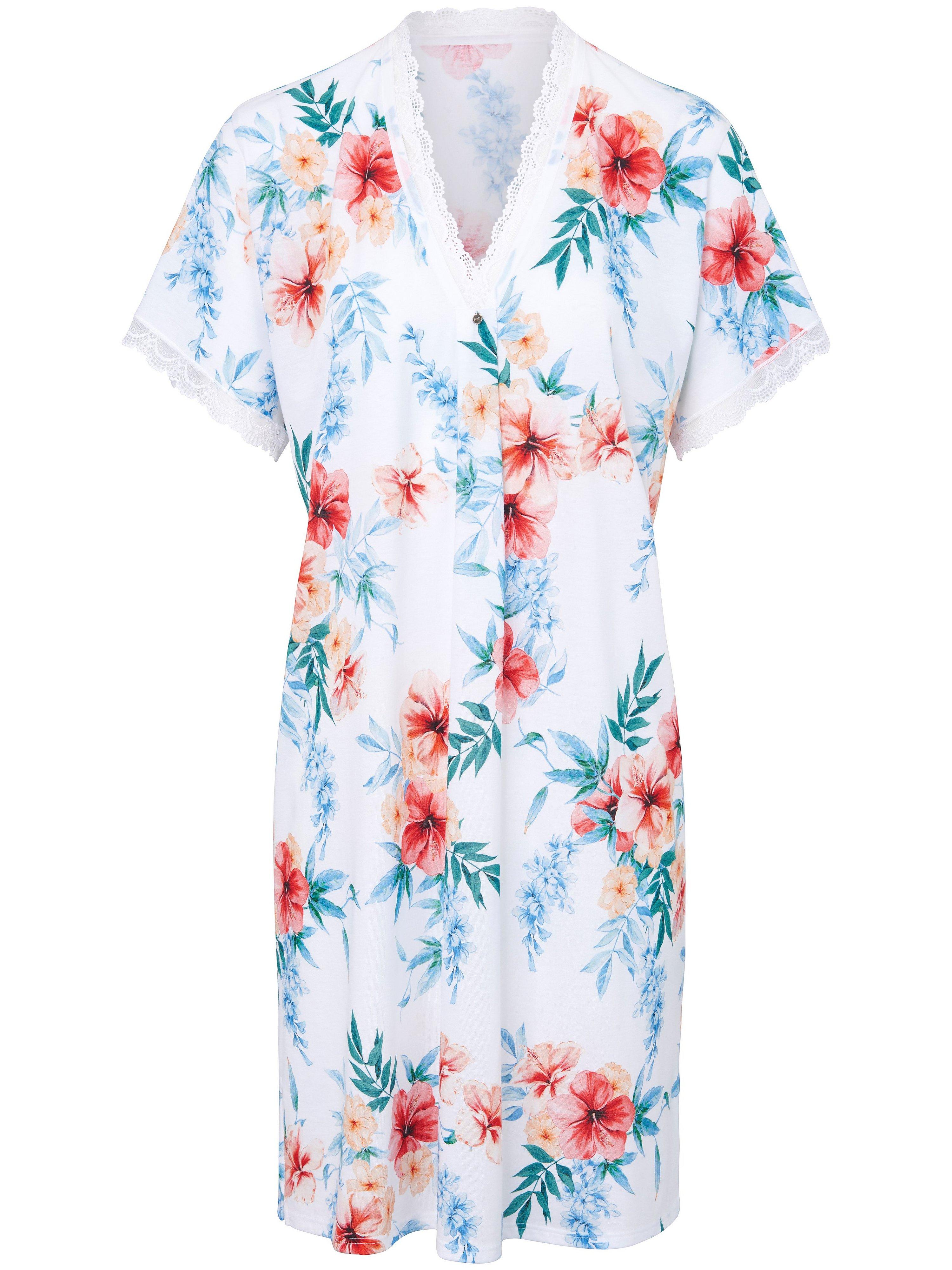 La chemise nuit single jersey  Rösch multicolore taille 46
