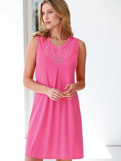 Féraud - Mouwloos nachthemd met borduursel voor