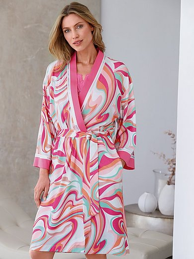 Féraud - Dressing gown with straight 3/4-­length sleeves
