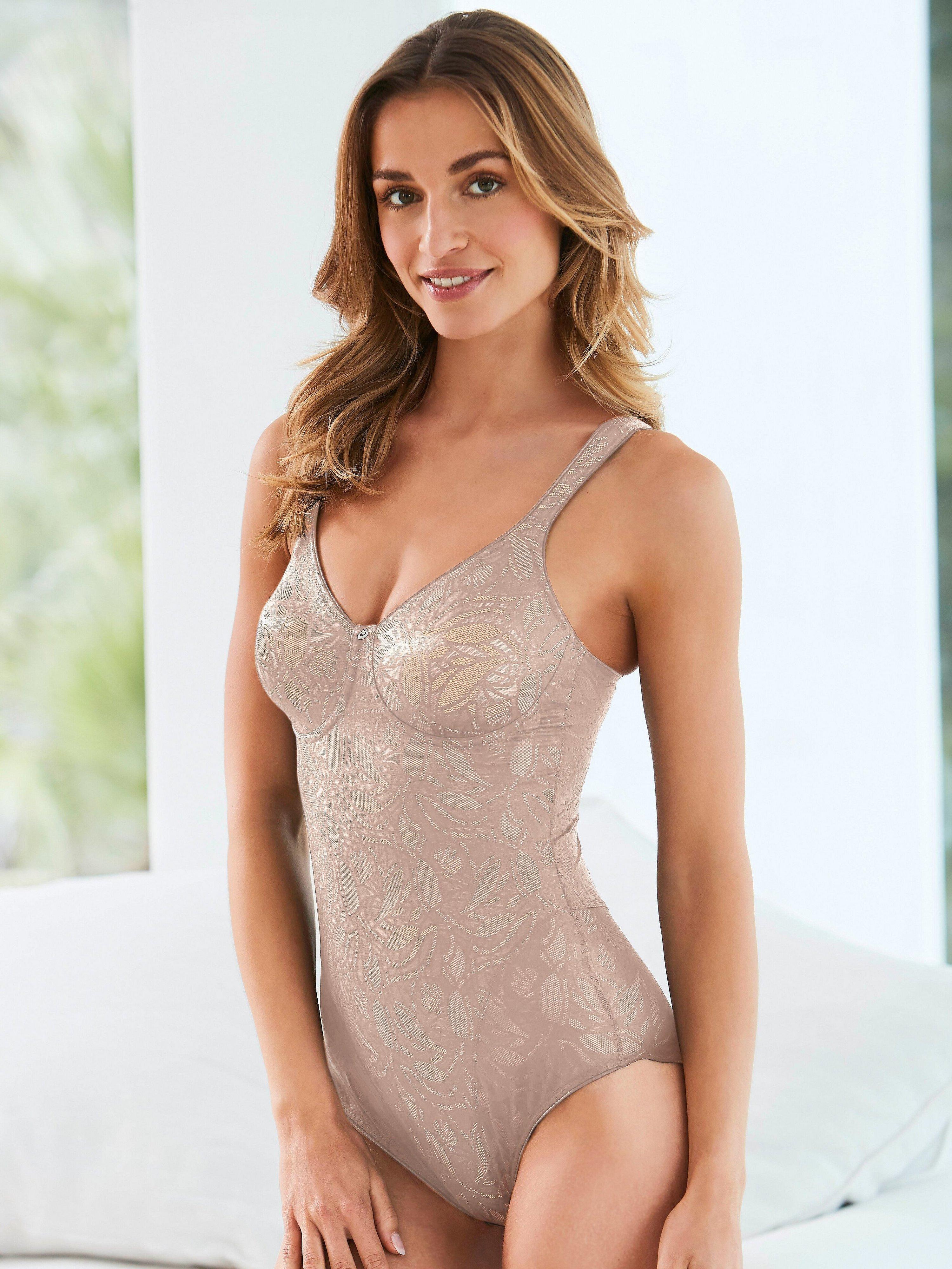 Ballina wireless corselette Susa pale pink