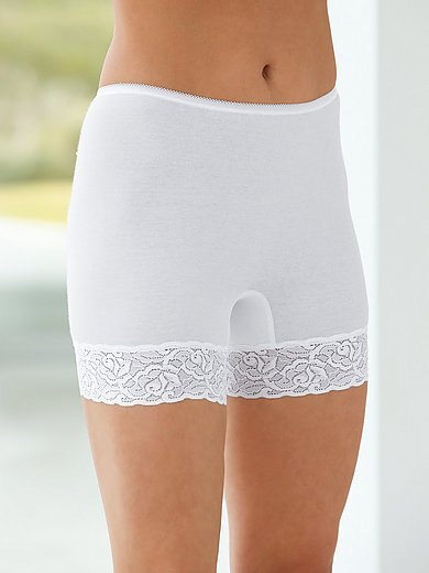 Conta - Le lot de 2 culottes-boxers 100% coton peigné