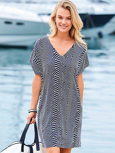 Charmor - Kleid mit überschnittener Schulter