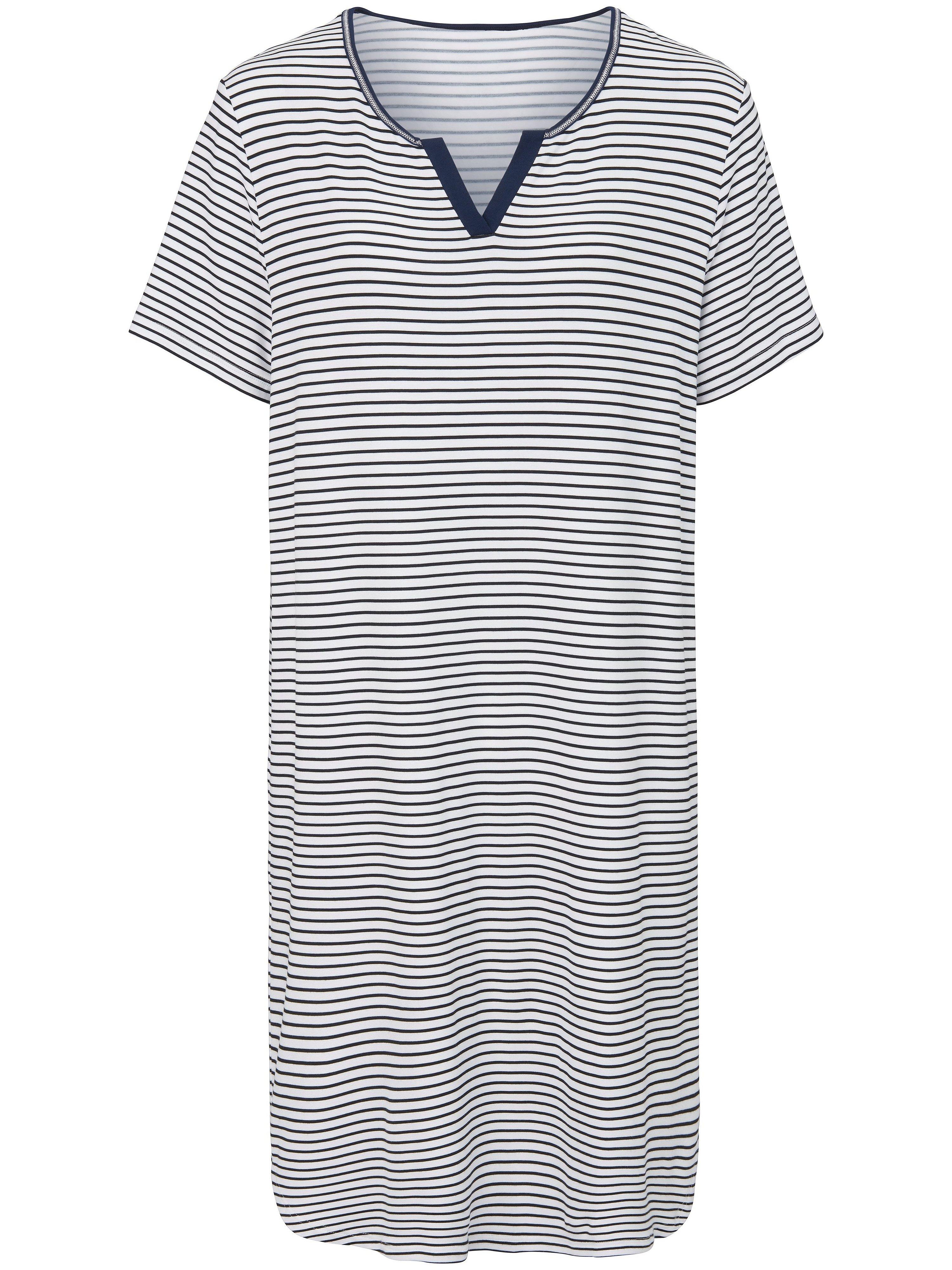 La chemise nuit 100% coton  Hautnah multicolore