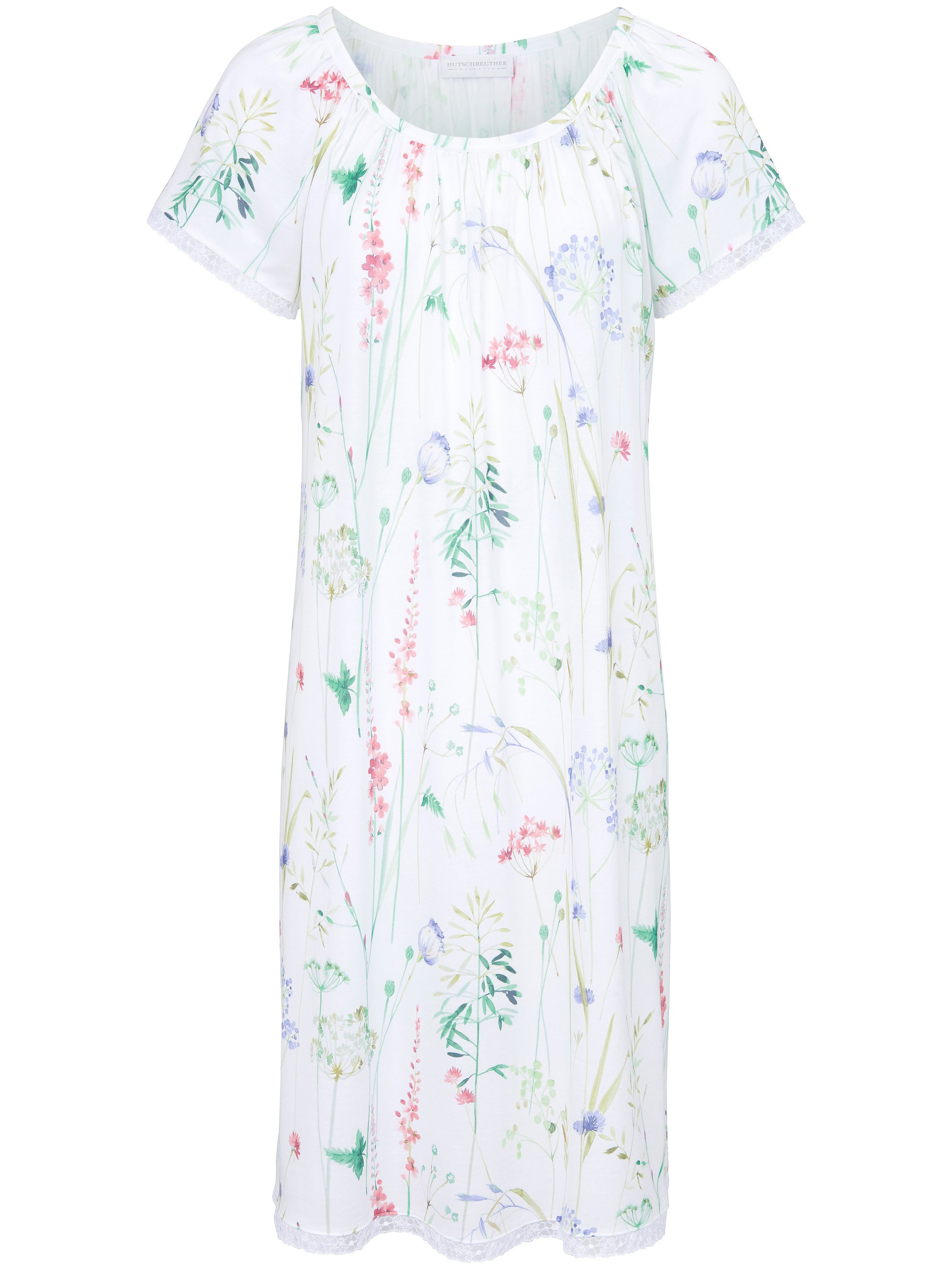 La chemise nuit manches raglan courtes  Hutschreuther multicolore taille 44