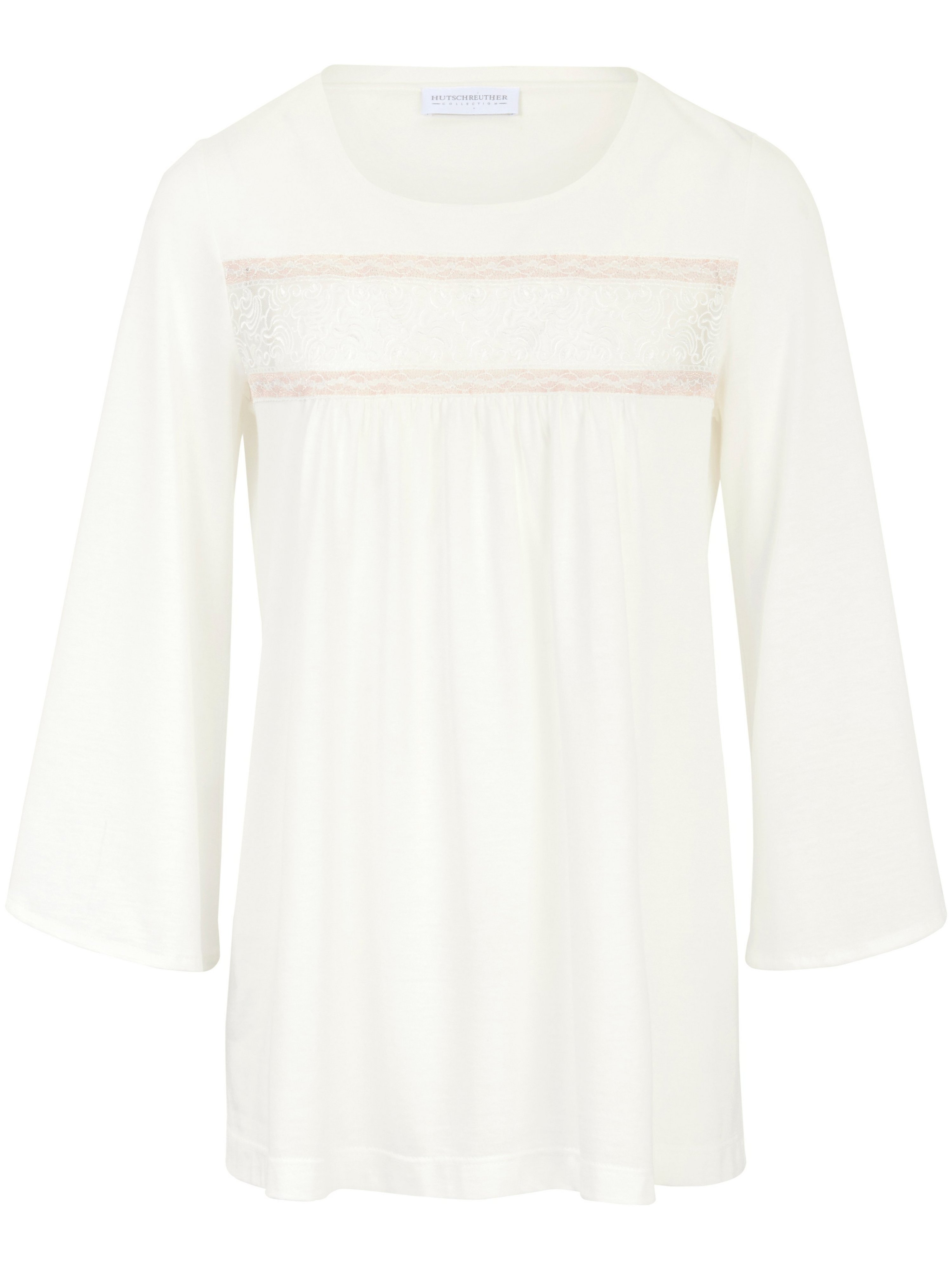 Le pyjama single jersey, ligne ample  Hutschreuther beige taille 48