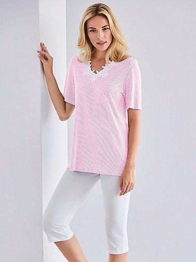 Cherie Line - Schlafanzug mit 1/2-Arm