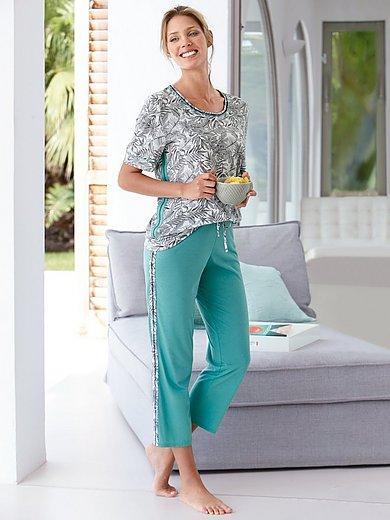 Rösch Pure - Pyjama met blaadjesprint