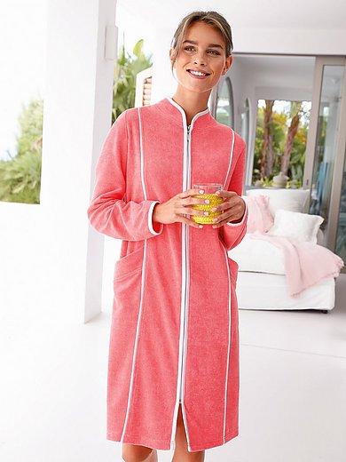 Peter Hahn - La robe de chambre à col montant