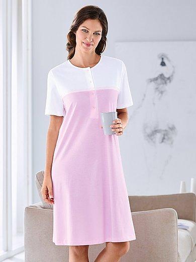 Hautnah - La chemise de nuit 100% coton manches courtes