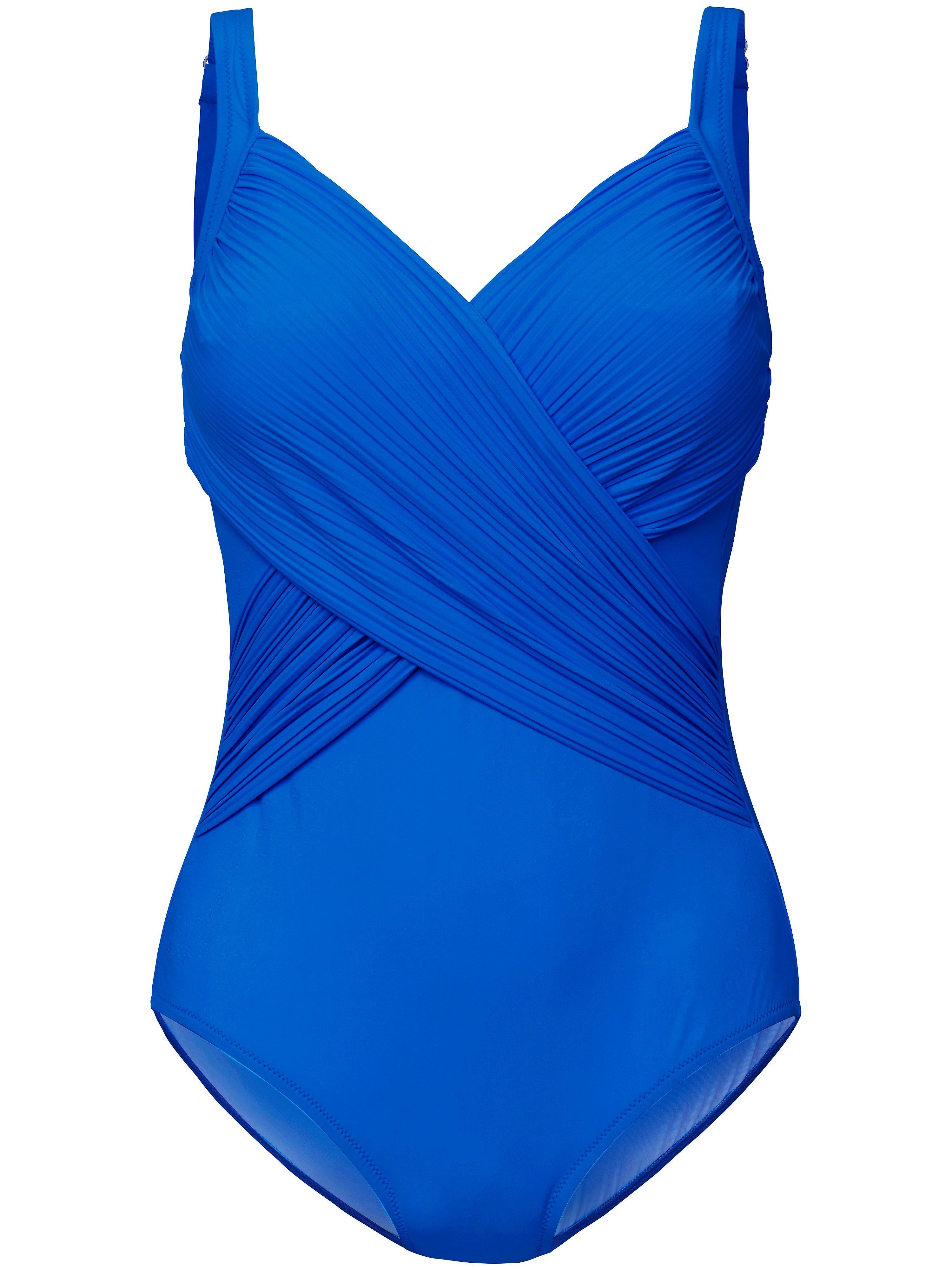 Badpak verstelbare schouderbandjes Van Grimaldimare blauw