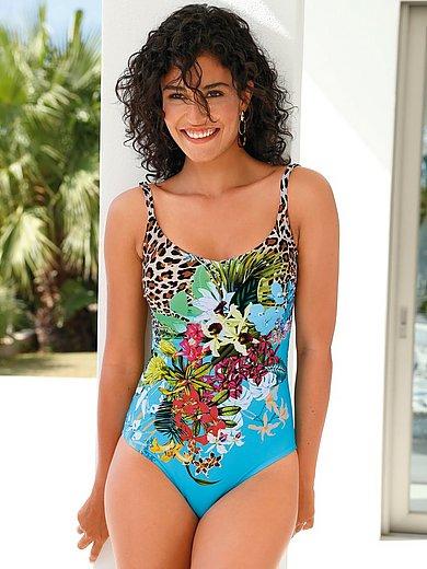 Fürstenberg - Le maillot de bain avec motifs fleuris et léopard