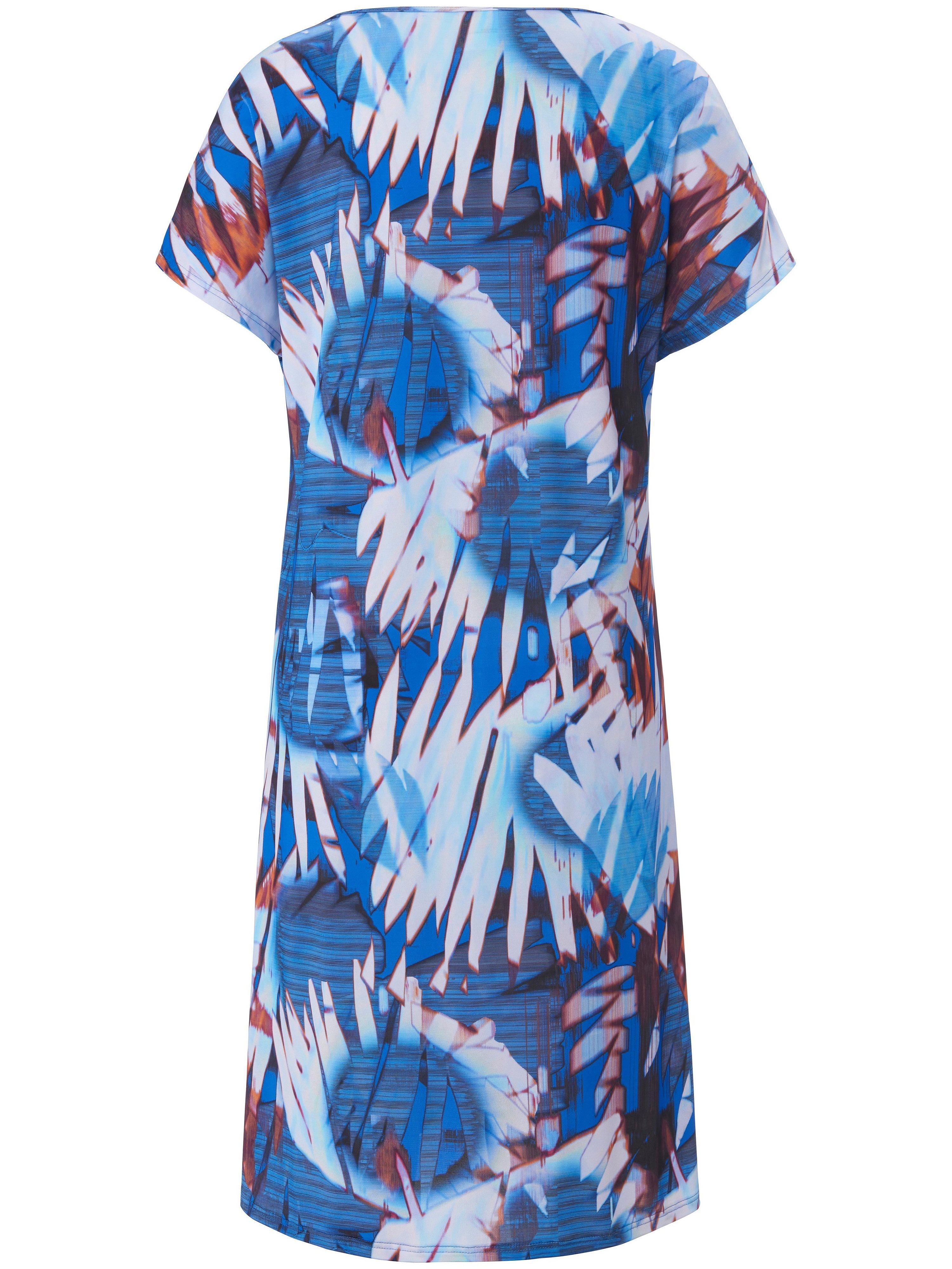 Kjole overskårne skuldre Fra Sunflair blå