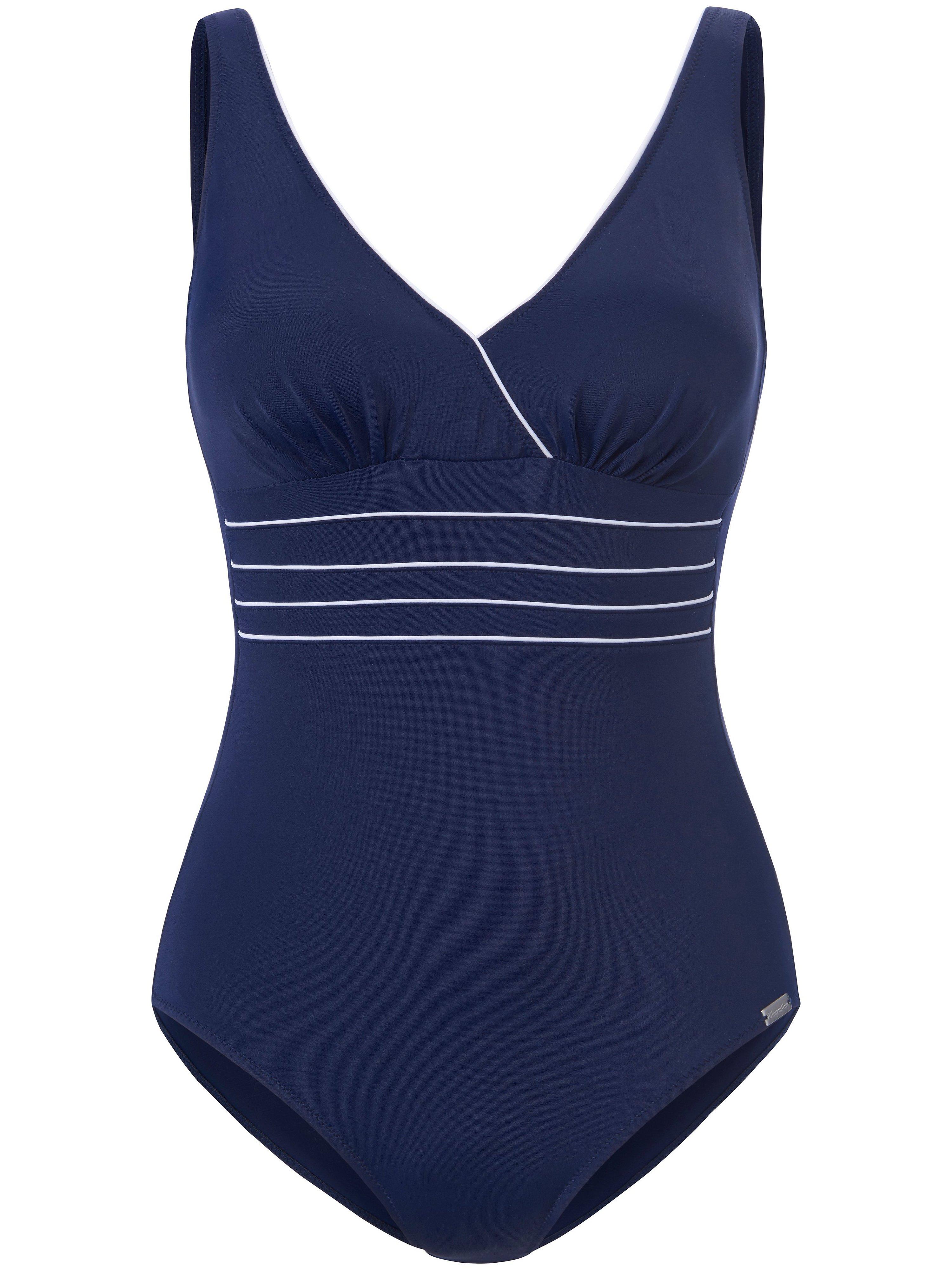 Swimsuit light shaping Charmline blue