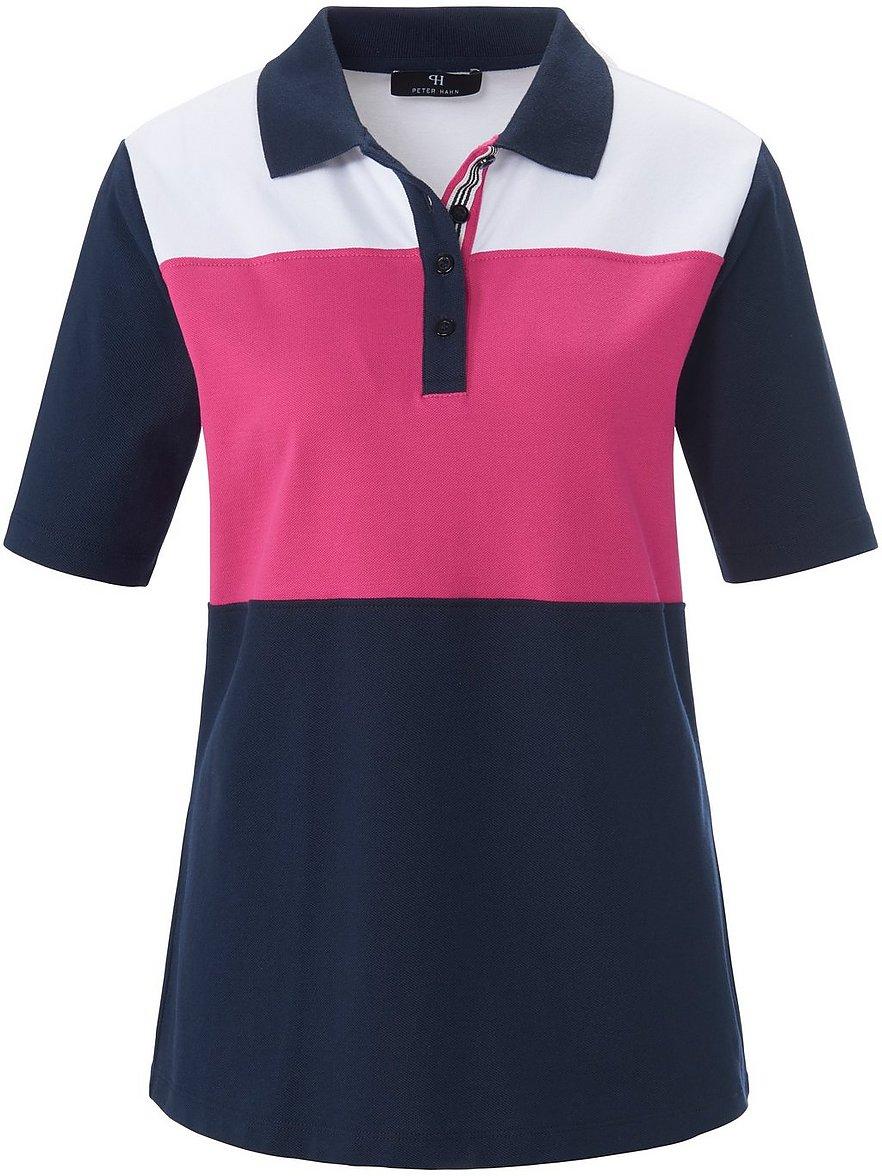 peter hahn - Polo-Shirt 1/2-Arm  blau Größe: 36