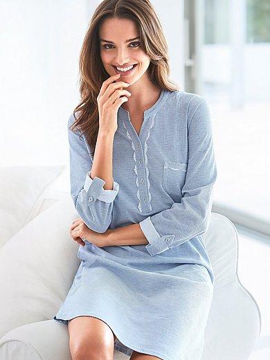 Ringella - La chemise de nuit en pur coton, manches longues