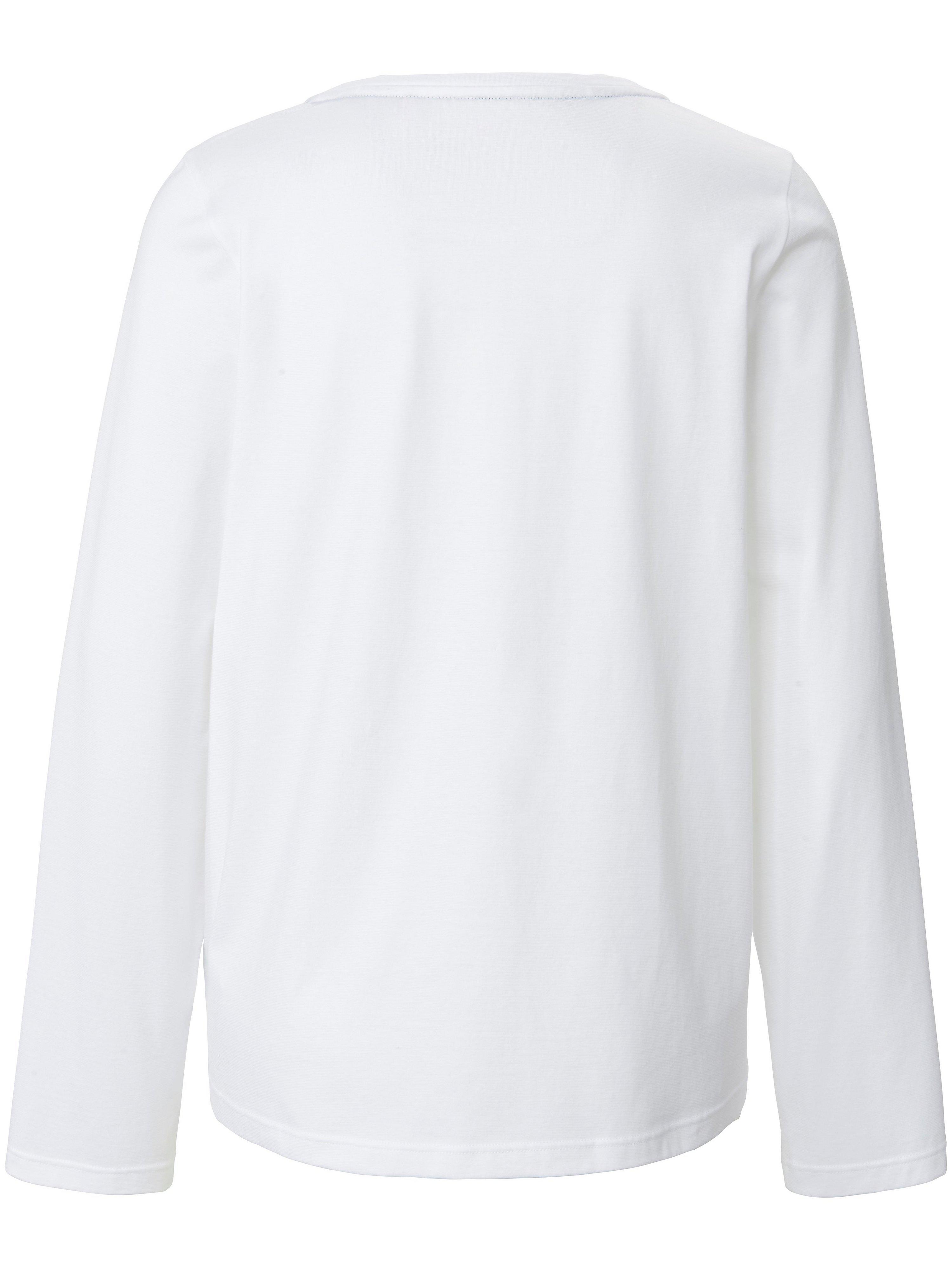 T-shirt rund hals i 100 bomuld Fra Joop! hvid